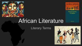 Course Image Literature122 Introduction to African Literature